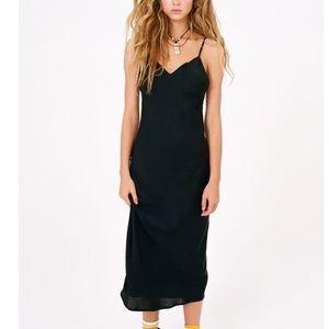UO Backless Midi Slip Dress